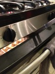 Oven Door Propped Open