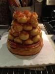 Finished St. Honorê Cake