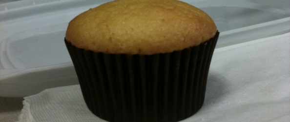 Olive Oil Orange Chiffon Cupcake