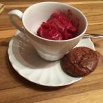 Raspberry Cherry Sorbet